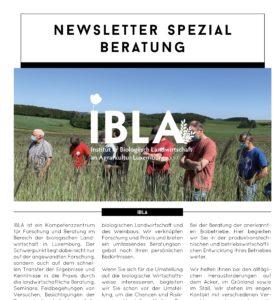 Newsletter Spezial-Edition